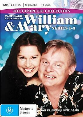 William & Mary - Complete Collection | Boxset - DVD Region 4 Free Shipping!