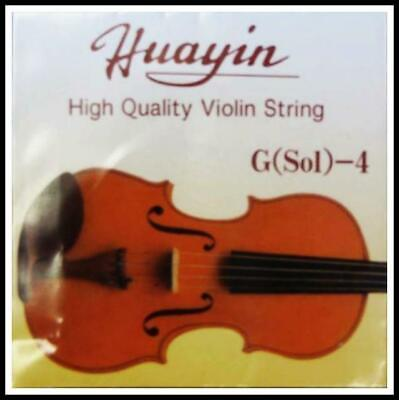 Huayin High Quality 4/4 Violin strings Set of 4 Strings G,D,A, E 4/4 Size new