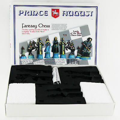 Prince August Hobby Casting Good Fantasy Chess Sets moulds molds PA721