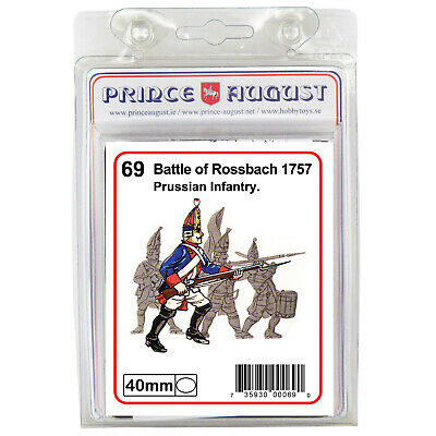 French soldiers 40mm scale casting Prince August rubber moulds molds PA65