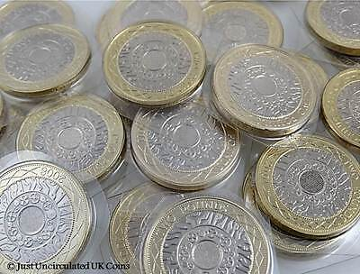 £2 Two Pound Coins 1997-2015 Various Years BU Standing On The Shoulder Of Giants