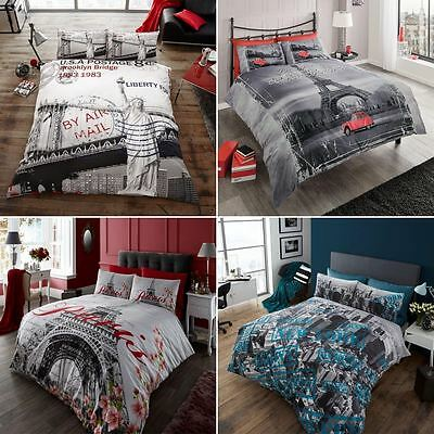 Duvet Cover with Pillowcase Quilt Cover Bedding Set Single Double King