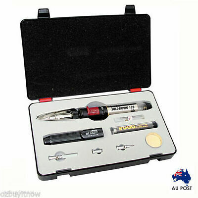 Pro120K 125W Gas Soldering Iron, Blow Torch, Hot Knife, Blower Kit Au