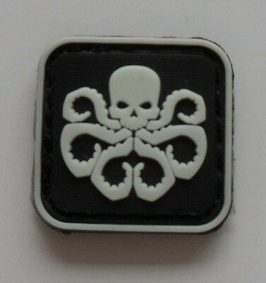 NEW The Avengers hydra skeletons Logo  Mini   Patch   SJK+   292