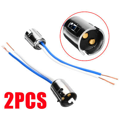 2 Pcs 1157 LED Light Bulb Socket Holder wire connector for Car Truck S25 BAY15D