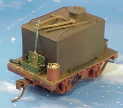 On30 WISEMAN MODEL SERVICES SMALL 4 WHEEL LOGGING WATER CAR KIT