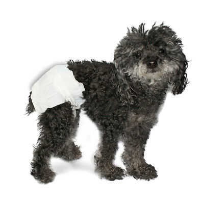 Disposable Diapers For Pets - Case of 120 - for Adult dogs, puppies or cats