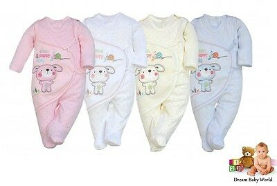 Sleepsuits 2Pcs Boys Girls Long Sleeve Outfits size 3 - 9 months HIGHEST QUALITY
