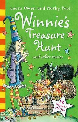 Winnie's Treasure Hunt and Other Stories by Laura Owen Paperback Book Free Shipp