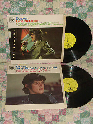 Donovan-Lotto Lot Of 2 Uk Presses Lps