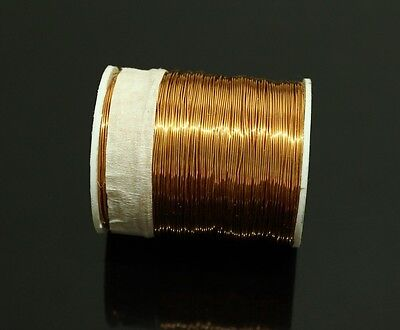 SPOOL COPPER WIRE 150g,26GA,0.4mm 130m(420ft) Enameled Copper Coil,Magnet Wire