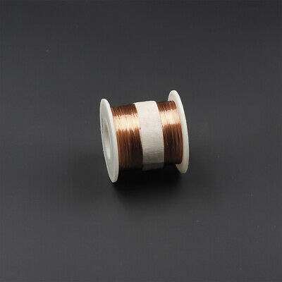Enameled wire 140g,5oz,30AWG,0.25mm,1000ft Enameled copper coil Magnet Wire