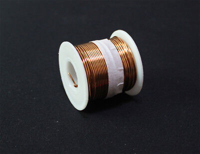 SPOOL COPPER WIRE 1.0mm,18GA,25m,85ft ENAMELED COPPER coil,Magnet Wire
