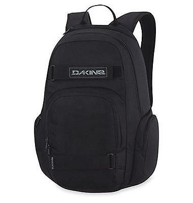 "NEW Dakine Atlas Skate Backpack, Padded sleeve fits most 15"" laptops,Black, 25 L"