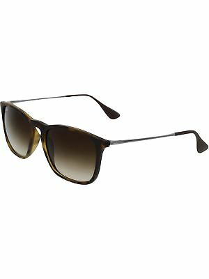 Ray-Ban Women's Chris RB4187-856/13-54 Silver Round Sunglasses