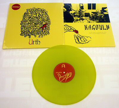 "Kagoule ""Urth"" Yellow Vinyl - NEW Ltd to 200!"