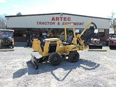 2008 Vermeer Rt450 Trencher - Good Condition - Low Hours - Good 6' Combo Chain