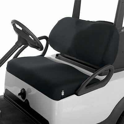 Classic Accessories Fairway Golf Cart Mesh Bench Seat Cover BLACK Golf Buggy