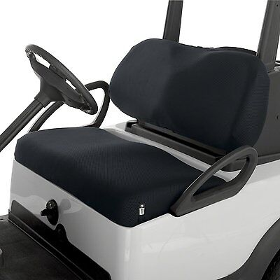 Classic Accessories Golf Cart Diamond Mesh Bench Seat Cover BLACK Buggy NEW