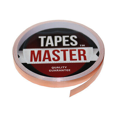 """Copper Foil Tape - 1/4"""" X 10ft - EMI Conductive Adhesive / Ship from USA"""