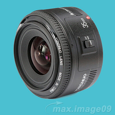 YONGNUO YN35mm F/2 Prime Auto Focus Lens same as EF 35mm F2 for Canon cameras
