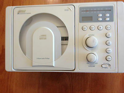 LS4000W RV CD PLAYER AM/FM RADIO STEREO WHITE Panel Mount RV  boat and Camper