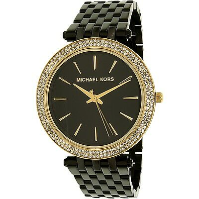 Michael Kors Women's Darci MK3322 Black Stainless-Steel Quartz Watch