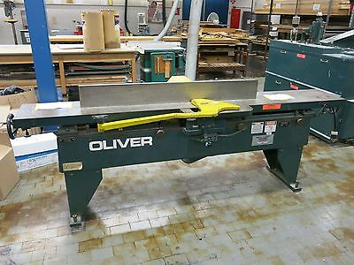 "Oliver Model 166B 12"" 7.5 hp Jointer with Spiral Carbide Insert Cutterhead"