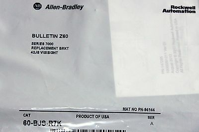 New Allen Bradley  60-Bjs-R7K Bracket For 42Js Visisight Photoswitch New