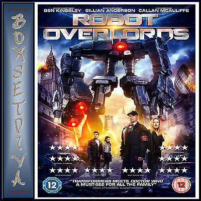 ROBOT OVERLORDS - Gillian Anderson **BRAND NEW DVD ***