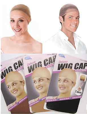 2Pcs New Soft Wig Cap Stocking Hair Net Wrap Hair Under A Wig *5 Color Options*