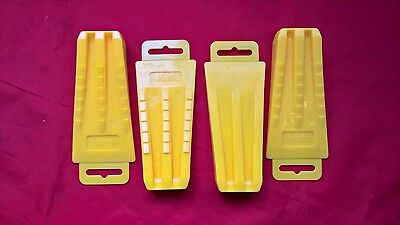 Chainsaw 4 Pack Plastic Felling Falling Wedge Set, 5 1/2 Inch,