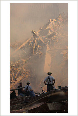 September 11th World Trade Center WTC 9/11 Firefighters 8 X 12 Photo 49