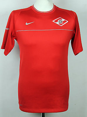 Rare Spartak Moscow Player Issue Training Football Shirt Nike 2008 Rare Small
