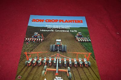 Allis Chalmers Row Crop Planter Dealer's Brochure DCPA2