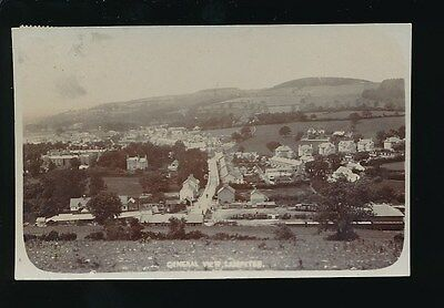 Wales Cardiganshire LAMPETER General View inc Railway Station 1906 RP PPC