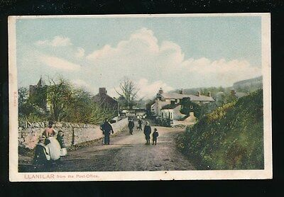 Wales Cardiganshire LLANILAR from the post office 1906 PPC