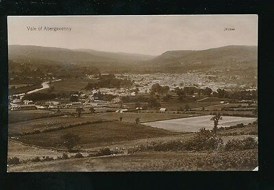 Wales Mon Monmouthshire Vale of ABERGAVENNY c1910/20s? RP PPC