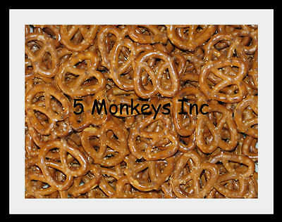 Mini Twist Pretzels ~ Snack Foods ~ Treats ~ 4 or 8 Ounces