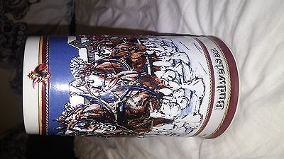 Budwieser holiday beer stien 1989