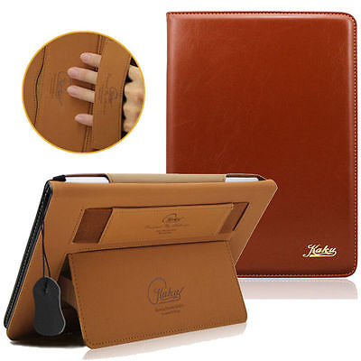 Real Leather Nice Smart Case Stand Cover For Apple ipad 2 3 4 Air / ipad Mini