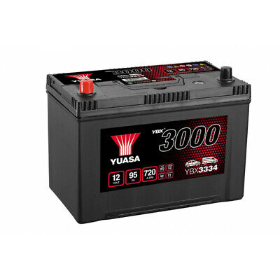 Batterie auto, voiture YBX3334 12V 90Ah 700A Yuasa SMF Battery 303X174X222mm G8