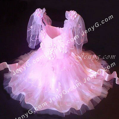 #351 Flower Girls/Communions/Party/Holiday/Pageant Gowns Dress, Pink 0-5 Years