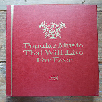 Popular Music That Will Live For Ever  -12Lp Box-Set + 2 Extra - Reader´s Dige