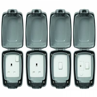 Mk Shield Weatherproof Outdoor Indoor Electrical Switch Socket Waterproof Outlet