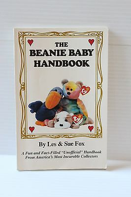 THE BEANIE BABY HANDBOOK Les & Sue Fox 1997 Edition, Unofficial Guide Handbook