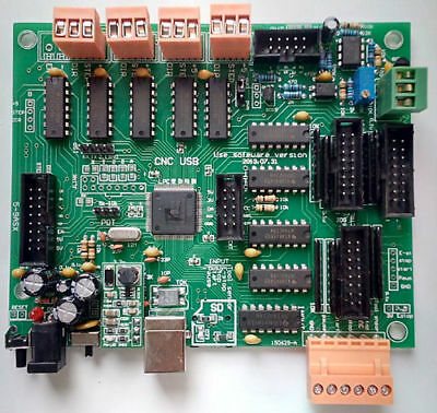 New USB CNC Controller Interface Board CNCUSB MK2