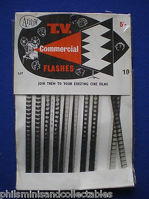 Arrow  Vintage Movie Title  ' TV Commercial Flashes'   STANDARD  8mm