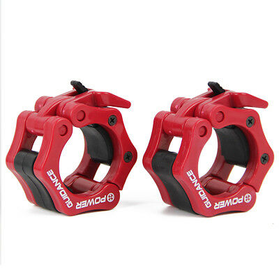 """2"""" Barbell Collars Standard Olympic Lock Collars Weight Lifting Fitness Training"""