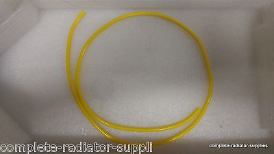 4mm ID Yellow Vacuum Tubing Air Breather Tube Hose Aquatic and Pond